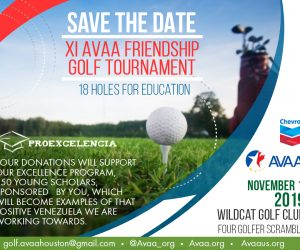 AVAA will hold its 11th Golf Tournament in Houston
